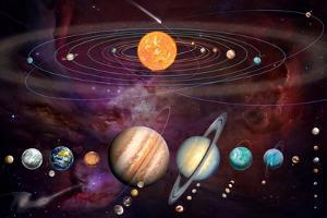 Solar System 1 (Variant 1) by Garry Walton