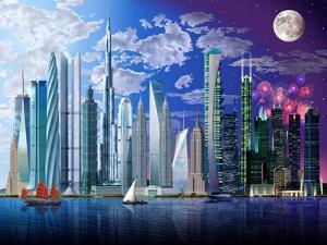 World's Tallest Buildings by Garry Walton