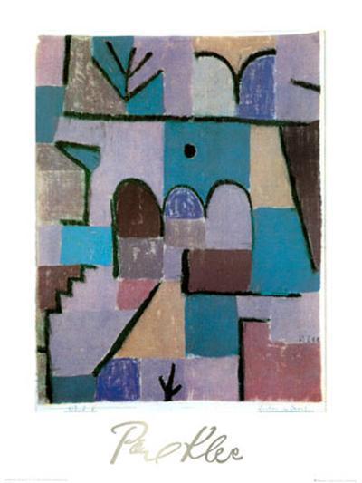 Garten im Orient, c.1937-Paul Klee-Art Print