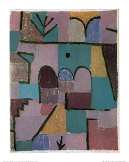 Garten Im Orient C1937 Art Print By Paul Klee Artcom