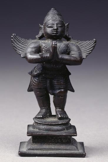 Garuda, Bronze Statue from South-Central India--Giclee Print