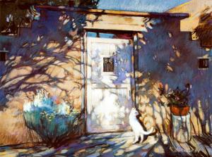 Santa Fe Shadows by Gary Blackwell