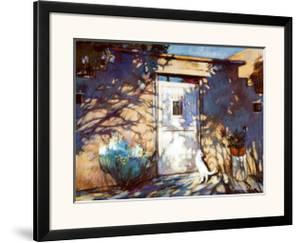 Santa Fe Shadows by Gary Blackwell