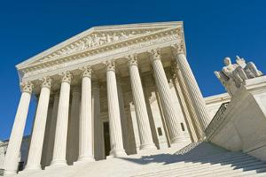 The Front of the US Supreme Court in Washington, Dc. by Gary Blakeley