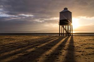 Burnham-On-Sea Lighthouse Shadows by Gary Clark - CreativeFocusPhotography