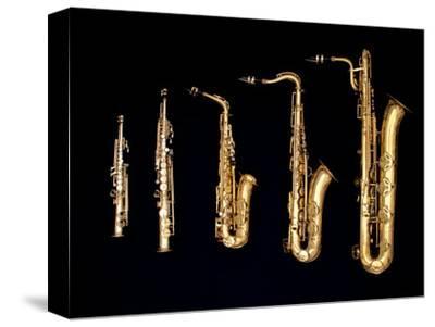 Different Sized Saxophones