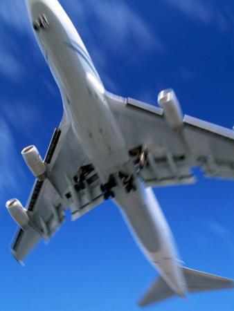 Jetliner Landing, Los Angeles, CA