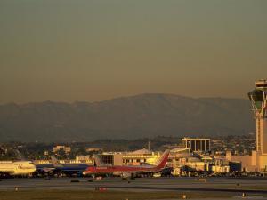 Los Angeles International Airport, CA by Gary Conner