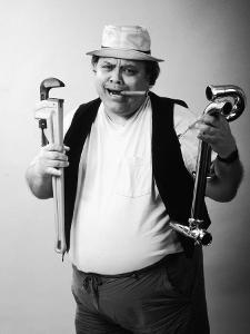 Plumber with Cigar by Gary Conner