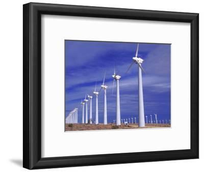 Rows of Wind Powered Generators, Mojave, CA
