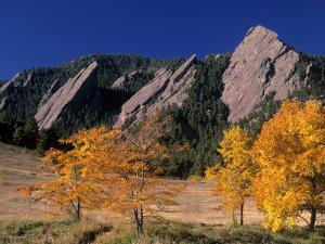 The Flatirons, Boulder, Colorado by Gary Conner