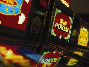 Video Gambling Machines at Casino, NV by Gary Conner