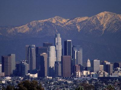View of San Gabriel Mountain, Los Angeles