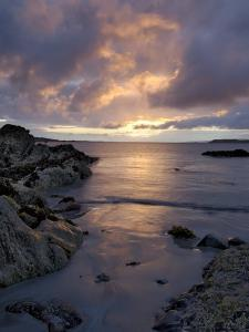 Beach at Sunset, Near Tully Cross, Connemara, County Galway, Connacht, Republic of Ireland by Gary Cook
