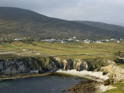 Cove and Village of Ashleam, Achill Island, County Mayo, Connacht, Republic of Ireland by Gary Cook