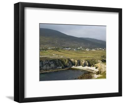 Cove and Village of Ashleam, Achill Island, County Mayo, Connacht, Republic of Ireland