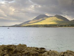 Croagh Patrick Mountain and Clew Bay, from Old Head, County Mayo, Connacht, Republic of Ireland by Gary Cook