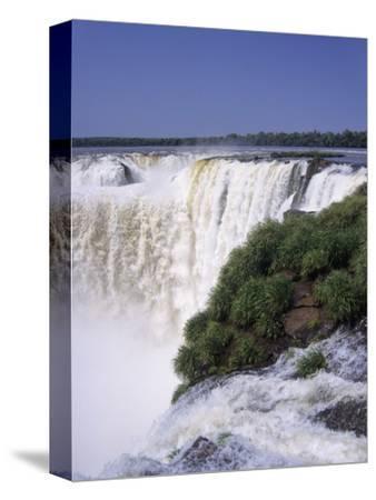 Devils Throat on the Argentina Side of Iguazu Falls (Iguacu)