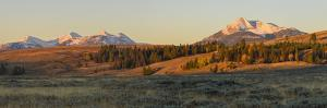 Gallatin Range and Swan Lake Flats, Yellowstone National Park, Wyoming, United States of America by Gary Cook