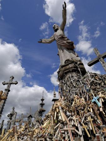 Hill of Crosses, Near Siauliai, Lithuania, Baltic States, Europe by Gary Cook