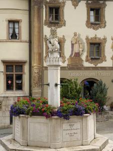 Market Platz, Berchtesgaden, Bavaria, Germany, Europe by Gary Cook