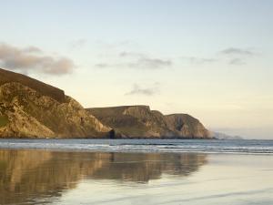 Minaun Cliffs from Keel Beach, Achill Island, County Mayo, Connacht, Republic of Ireland by Gary Cook