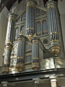 Organ, Oude Kirk (Old Church), Delft, Holland (The Netherlands) by Gary Cook