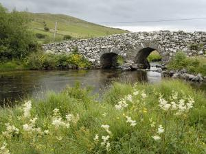 Quiet Man Bridge, Near Maam Cross, Connemara, County Galway, Connacht, Republic of Ireland by Gary Cook