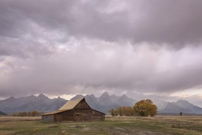 Ta Moulton Barn, Mormon Row, Grand Tetons National Park, Wyoming, United States of America by Gary Cook