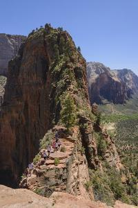 Trail to Angels Landing, Zion National Park, Utah, United States of America, North America by Gary Cook