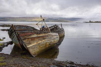 Wrecks of Fishing Boats, Near Salen, Isle of Mull