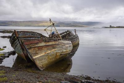 Wrecks of Fishing Boats, Near Salen, Isle of Mull by Gary Cook