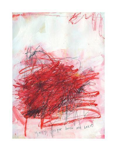 Gary Cooper Broke My Heart-Alison Black-Giclee Print