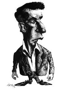 Ludwig Wittgenstein, Caricature by Gary Gastrolab