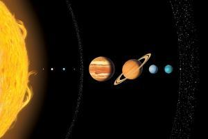 Solar System Planets, Artwork by Gary Gastrolab