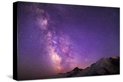 Milky Way (Constellation Sagittarius), Mt Rainier NP, Washington, USA