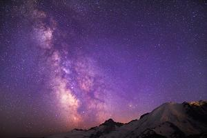 Milky Way (Constellation Sagittarius), Mt Rainier NP, Washington, USA by Gary Luhm