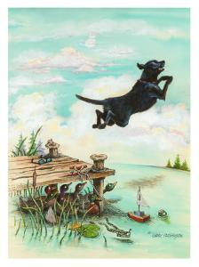 Day at the Lake by Gary Patterson