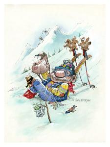 Ski Bum by Gary Patterson