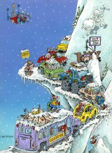 Ski Fever by Gary Patterson