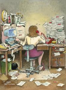 The Secretary by Gary Patterson