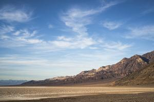 Usa, California, Death Valley, Desert Landscape by Gary Weathers