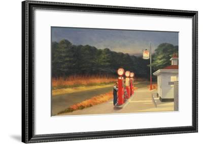 Gas, 1940-Edward Hopper-Framed Art Print
