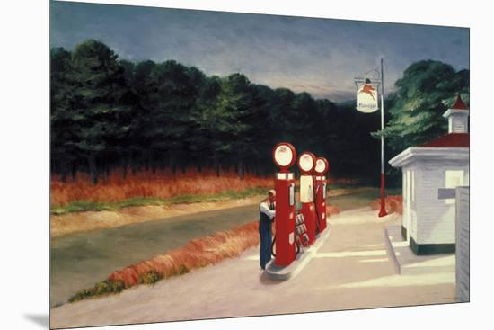 Gas, 1940-Edward Hopper-Mounted Giclee Print