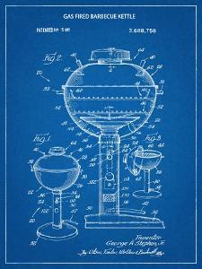 Gas Fired Grill Patent