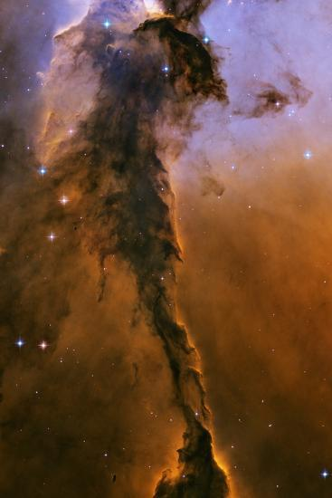 Gas Pillar In the Eagle Nebula--Photographic Print