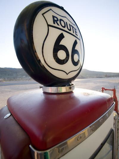 Gas Pump, Historic Route 66, Arizona, United States of America, North America-Colin Brynn-Photographic Print