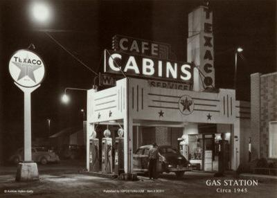 Gas Station--Art Print