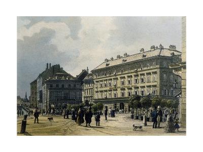 Gashof Zum Lamm in Vienna, 1830--Giclee Print