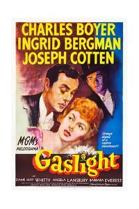 Gaslight, Charles Boyer, Ingrid Bergman, Joseph Cotten, 1944